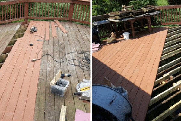deck repair work, pic 1